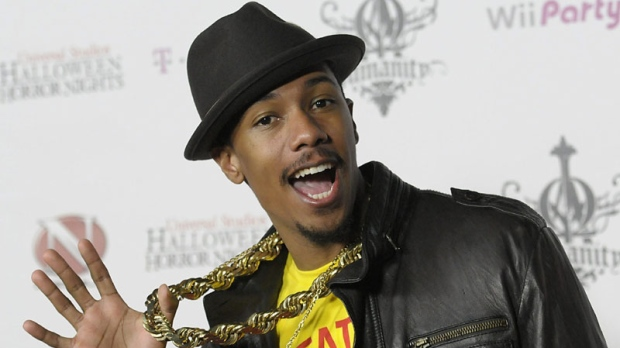 Actor Nick Cannon arrives at his 30th birthday party at Universal Studios in Universal City, Calif. on Saturday, Oct. 9, 2010. (AP Photo/Dan Steinberg)