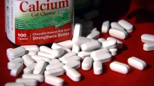 Calcium supplements linked to longer lifespans