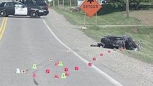 CTV London/Windsor: Motorcycle crash