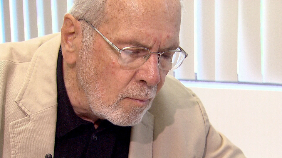 Alzheimer's patient Keith Robson felt that Gammagard was reducing his symptoms, and is disappointed the drug has been discontinued.