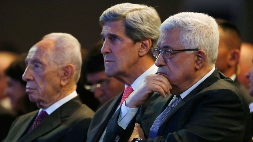 israels peres calls for return to peace talks with