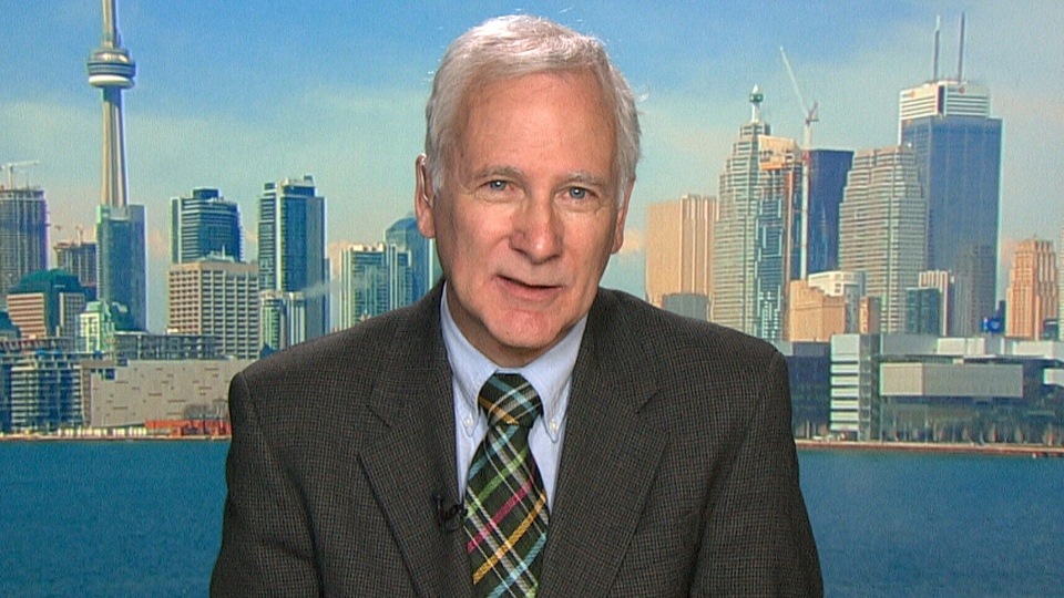 Councillor John Parker appears on Canada AM in Toronto, Monday, May 27, 2013.