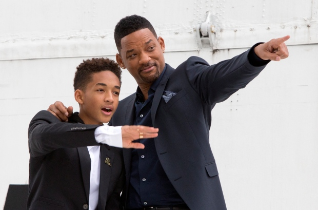 Will Smith family Jaden After Earth