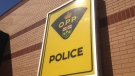 The OPP sign is shown outside a detachment on Wednesday, March 6, 2013. (Chris Campbell / CTV Windsor)