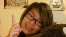 Surrey resident Anna Nguyen, 13, was shot Friday by a man she describes as a family friend. March 26, 2011. (YouTube)