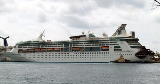 Royal Caribbean cruise fire