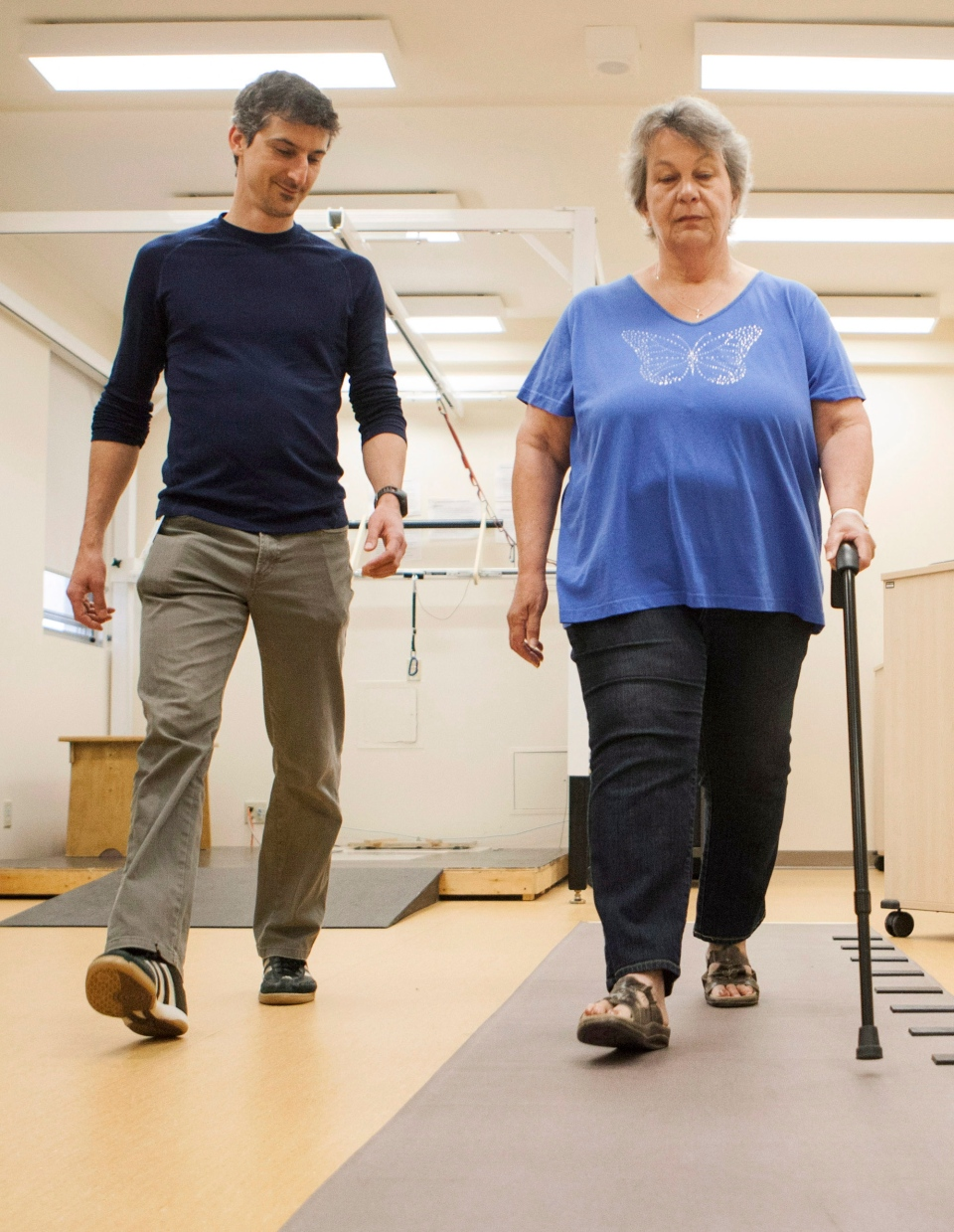 Clinic Helps Stroke Patients Recover Balance Avoid Future
