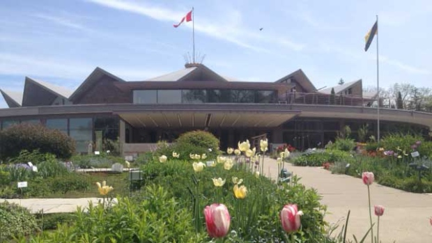The Festival Theatre is seen in Stratford, Ont. on Monday, May 27, 2013. (Scott Miller / CTV London)