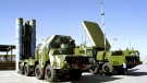 A Russian S-300 anti-aircraft missile system is on display in an undisclosed location in Russia in this undated file photo. (AP)