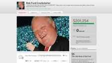Rob Ford Crackstarter website