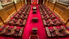 Senate chamber on Parliament Hill