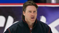 Patrick Roy, seen coaching the Quebec Remparts in 2008.