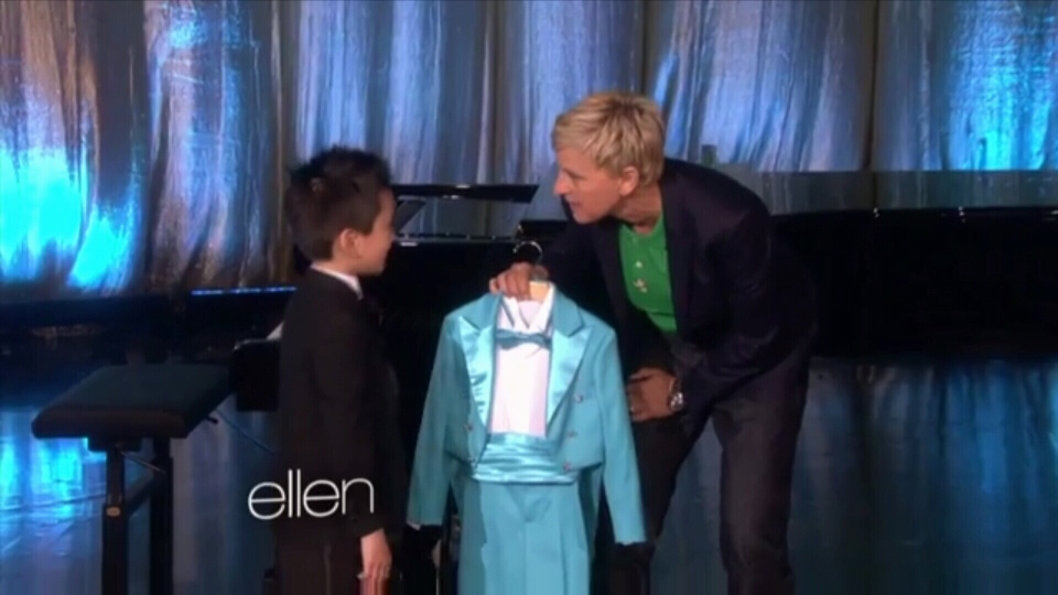 West Vancouver piano prodigy Ryan Wang performed on The Ellen DeGeneres Show Monday. (CTV)