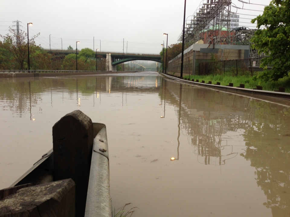 DVP Reopens After Heavy Flooding