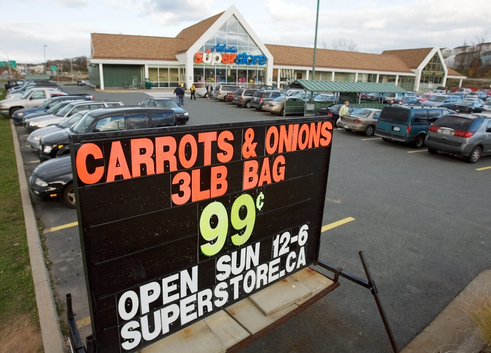 Nov. 5, 2006 file photo of the Atlantic Superstore in Dartmouth, N.S. (CP PHOTO/Andrew Vaughan)