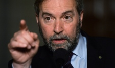 Mulcair vows to continue grilling Harper