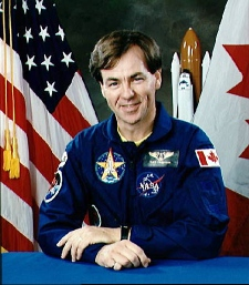 NASA's official portrait of STS-52 Backup Payload Specialist Bjarni Tryggvason from Sept. 28, 1992. (NASA Johnson Space Center)