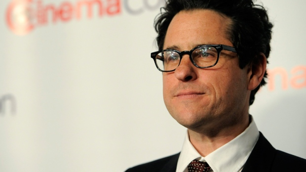 J.J. Abrams, director of 'Super 8,' arrives for the opening night of CinemaCon 2011, in Las Vegas, Monday, March 28, 2011. (AP / Chris Pizzello)