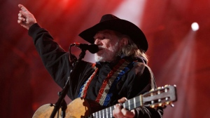 FILE - Willie Nelson performs during the 25th anniversary Farm Aid concert in Milwaukee, Saturday, Oct. 2, 2010. (AP / Jeffrey Phelps)