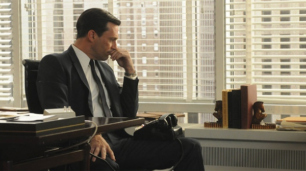 Jon Hamm as Don Draper in season 4 of 'Mad Men'