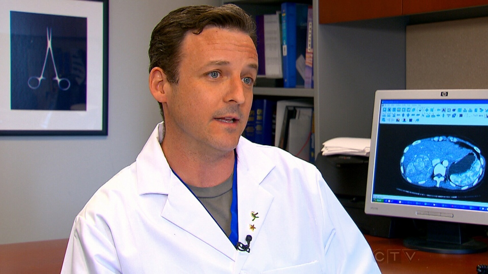 Dr. Sean Cleary of Toronto General Hospital says part of the reason liver cancer's death rate is so high is that the disease typically causes no symptoms so it's often not caught until it's in final stages.