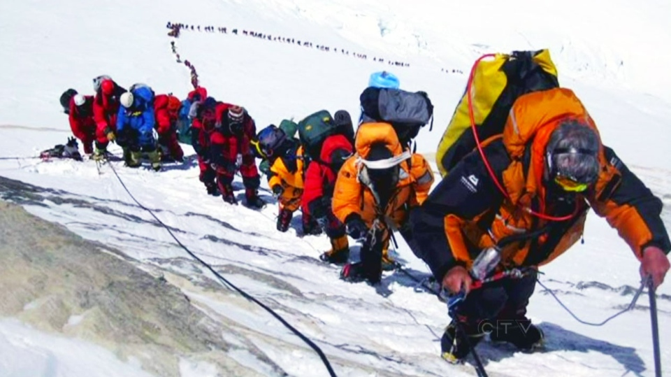 Nepal celebrated the 60th anniversary of the conquest of Mount Everest on Wednesday by honouring climbers who followed in the footsteps of Edmund Hillary and Tenzing Norgay.
