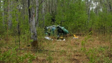 RCMP, helicopter crash