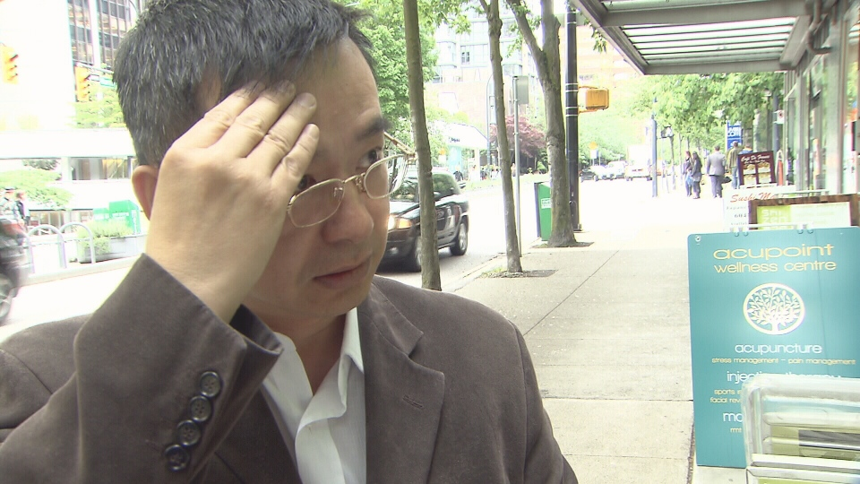 Franco Orr speaks with CTV News about how allegations of human trafficking have impacted his family. May 30, 2013. (CTV)