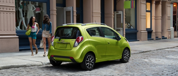 Win a car Chevrolet 2013 Spark 2LT Canada AM