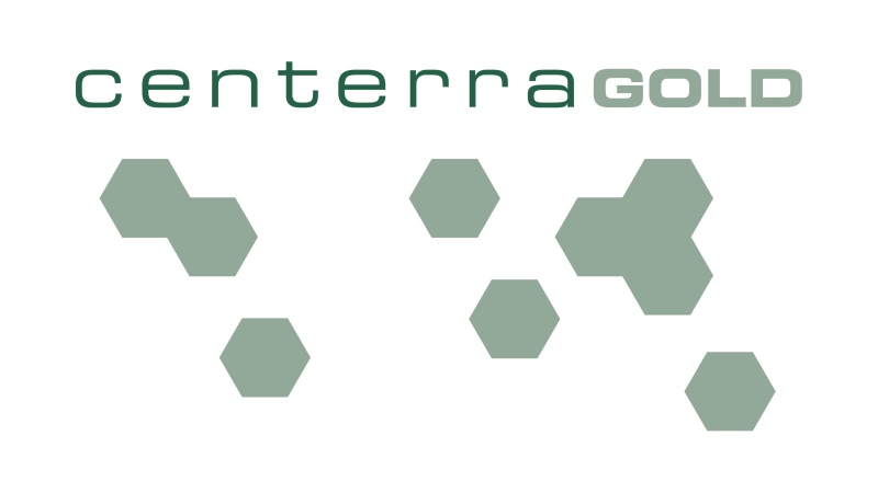 The corporate logo for Centerra Gold is shown. THE CANADIAN PRESS/HO