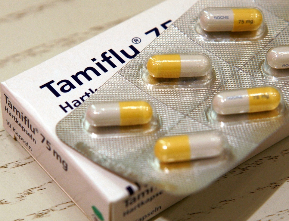 This file photo shows the antiviral drug Tamiflu.  (AP / Michael Probst)