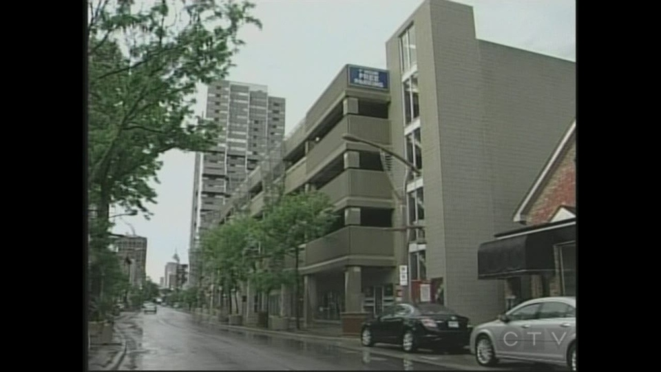 Proposal to move gym into pelissier street parking garage