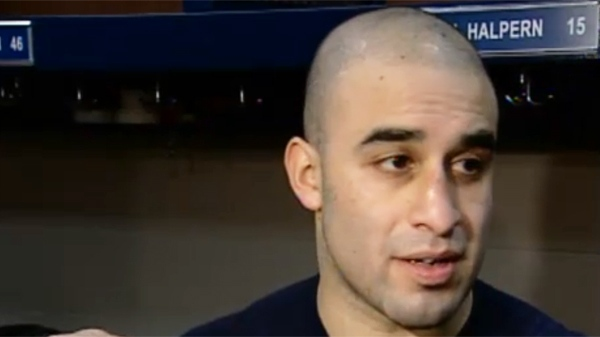 Scott Gomez, Montreal Canadien, is glad the team broke its losing streak. (March 30, 2011)