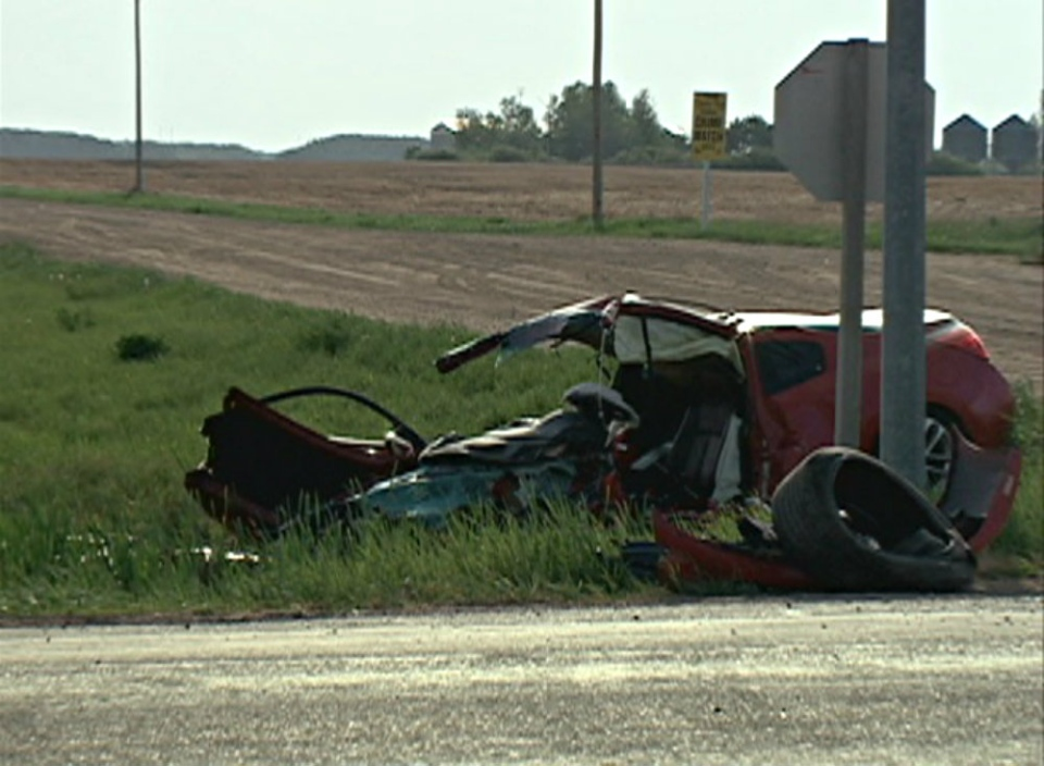 An accident on Highway 11 on Friday sent one person to hospital and had traffic restricted south of Saskatoon.