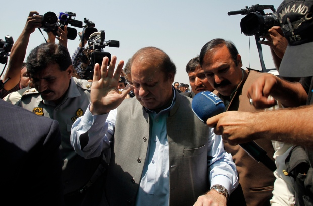 Nawaz Sharif in Islamabad, Pakistan, June 1, 2013