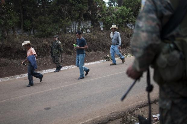 In San Rafael Las Flores, Guatemala, May 2, 2013.