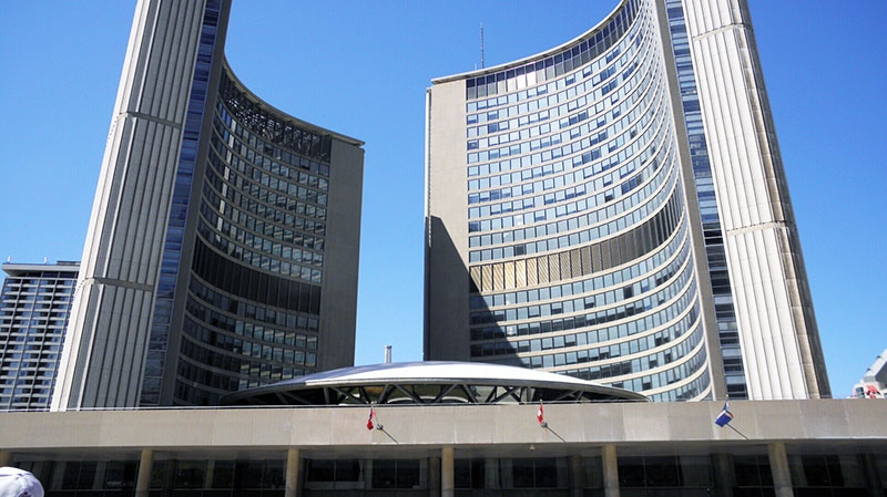 Toronto's inside workers have accepted a tentative contract with the city.