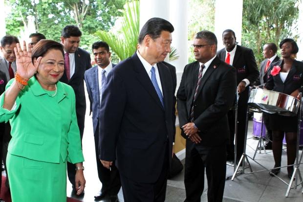 Xi Jinping visits Trinidad