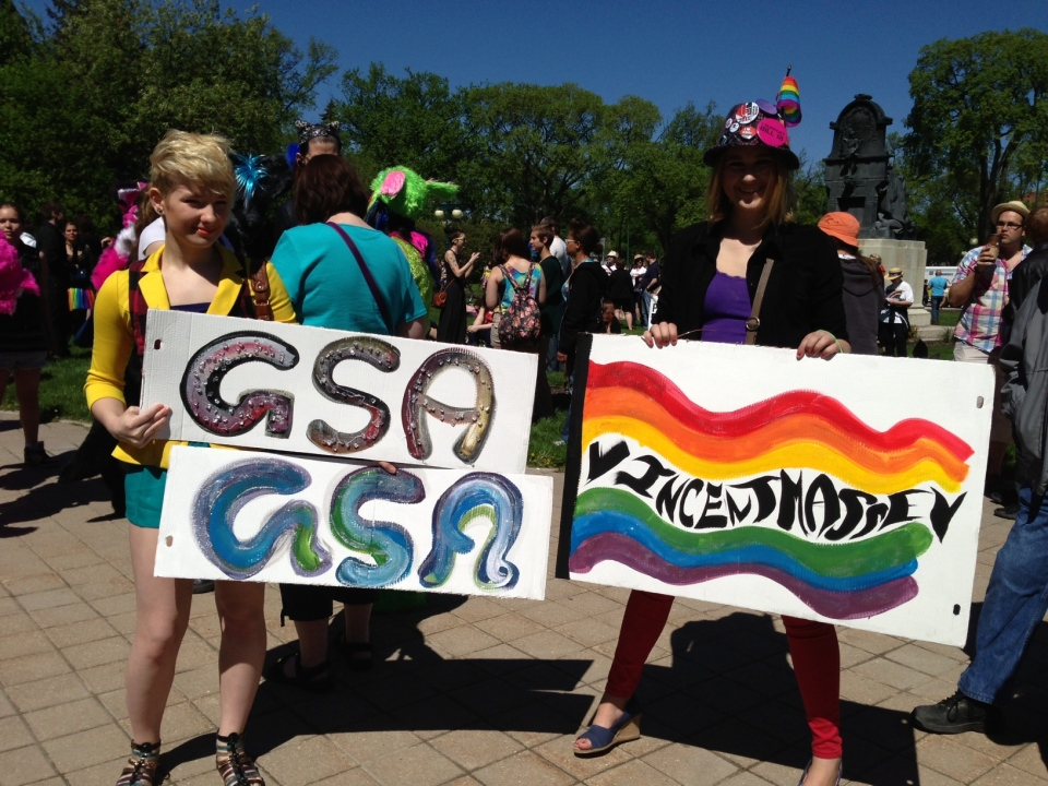 Thousands of people are expected in downtown Winnipeg to take part in the annual Pride Parade on Sunday.