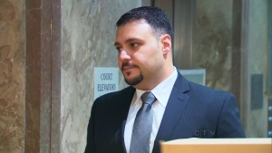 Const. Babak Andalib-Goortani appears at a Toronto court on Monday, June 3, 2013.