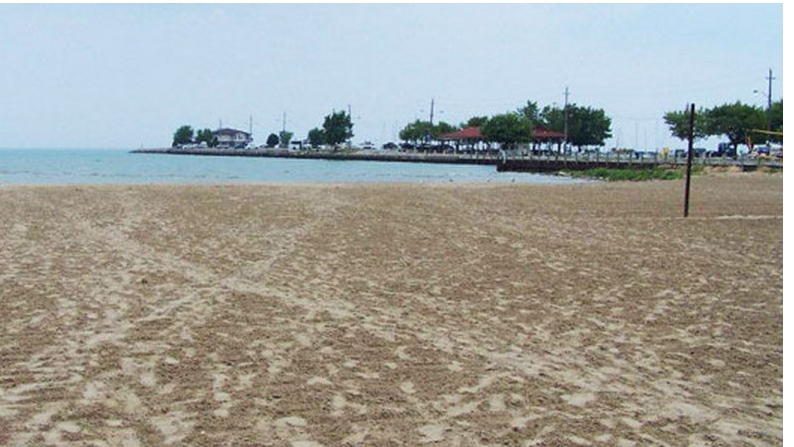 The west beach of Lakeview Park Beach is shown in this photo from the Town of Lakeshore's website.