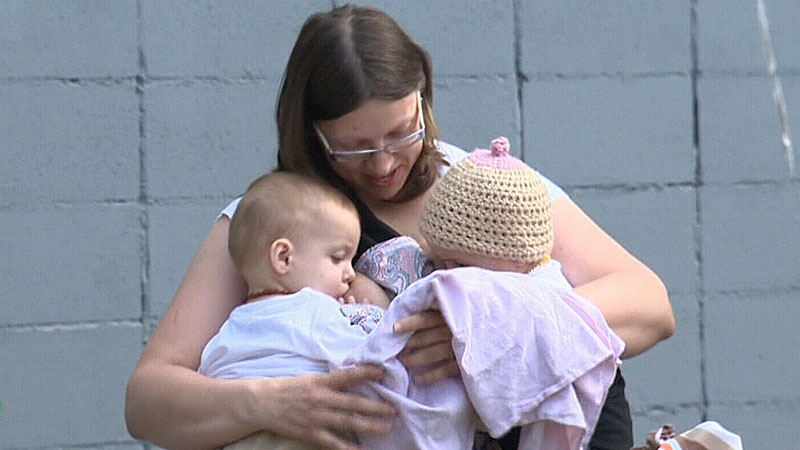 An organization promoting breastfeeding in Alberta has launched a new campaign aimed at discouraging discrimination against mothers breastfeeding in public.