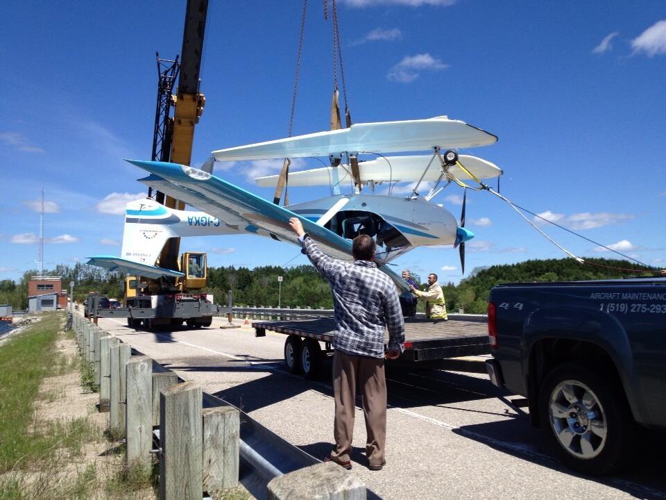 Float Plane Sinks After Landing At Conestogo Lake Ctv