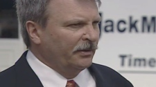 Jack MacLaren defeated longtime MPP Norm Sterling in the Progressive Conservative nomination bid for Carleton-Mississippi Mills, Thursday, March 31, 2011.