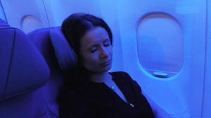 Worried about catching a cold or the flu on an airplane? Get a window seat, and don't leave it until the flight is over.