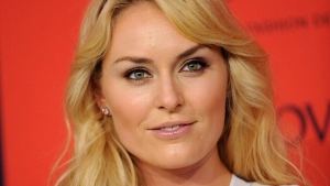 World Cup alpine ski racer Lindsey Vonn arrives at the 2013 CFDA Fashion Awards at Alice Tully Hall on Monday, June 3, 2013 in New York. (Brad Barket / Invision)