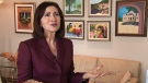 Commissioner Ann Cavoukian speaks to CTV News on Wednesday, June 5, 2013.