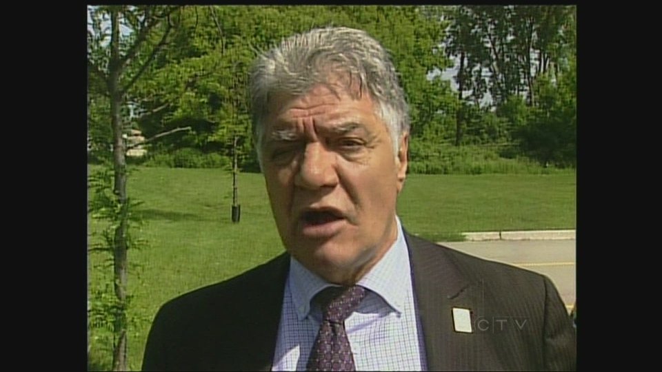 London Mayor Joe Fontana discusses the Ombudsman's investigation on Wednesday, June 5, 2013.