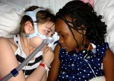 Lung transplant girl