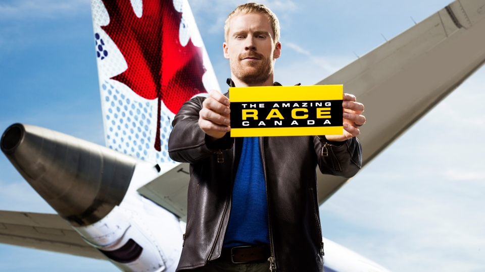 Canadian Olympian Jon Montgomery has been named the host of 'Amazing Race Canada'